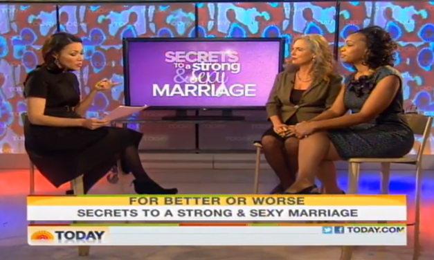 Secrets of A Strong Marriage- Dr. Argie Allen on Today Show
