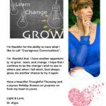 Love Change and Grow