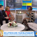 Declutter in 2019: Organize Your Relationships Convesation with Hoda and Carson